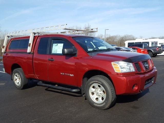 2005 Nissan Titan Pickup Truck, 1