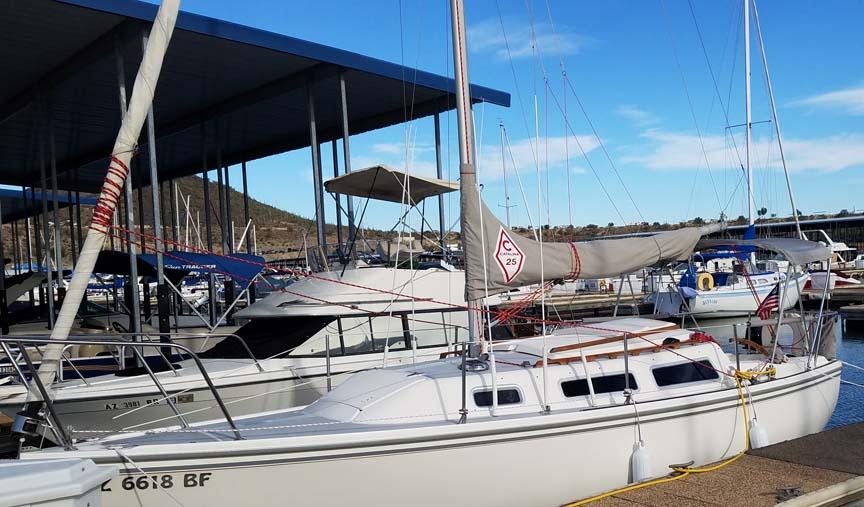 1985 Catalina 25, 1