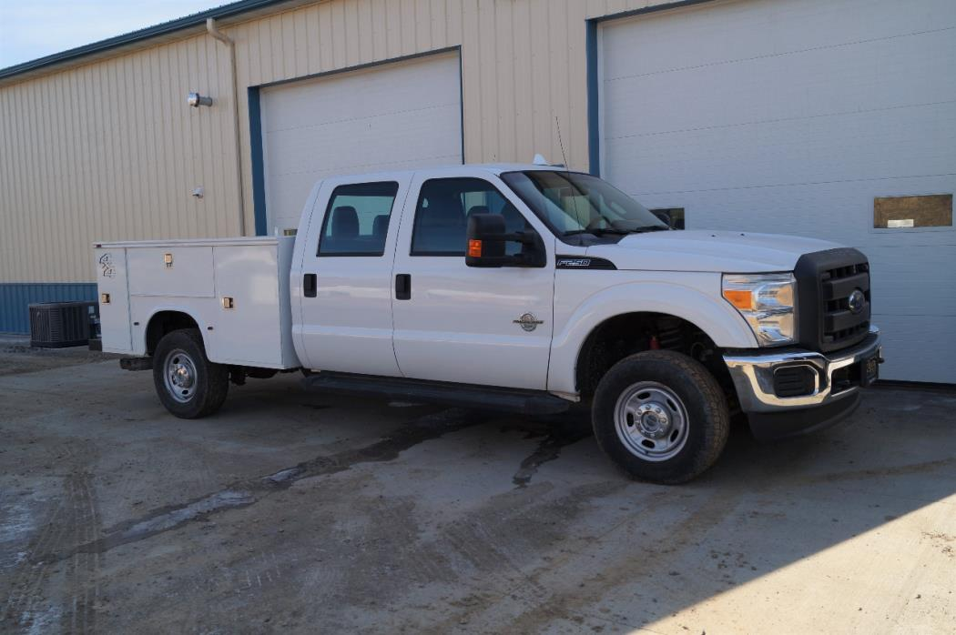 2013 Ford F250 Mechanics Truck