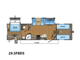 2017 Jayco Eagle HT Fifth Wheels 29.5FBDS