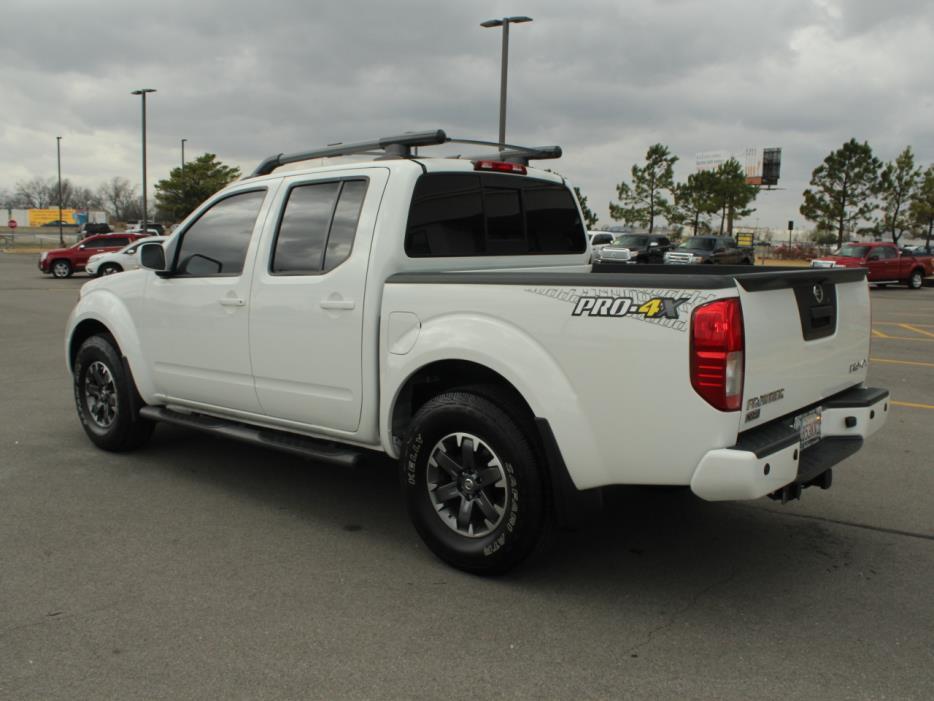 2014 Nissan Frontier Pickup Truck, 4