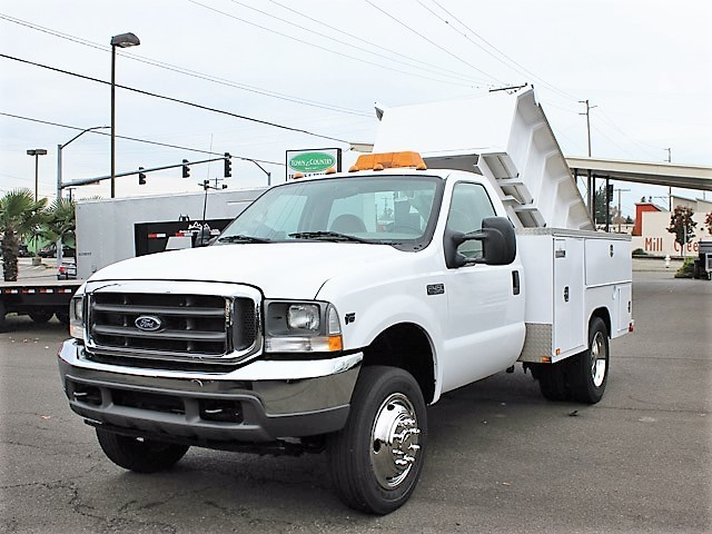 2002 Ford F450 Utility Truck - Service Truck