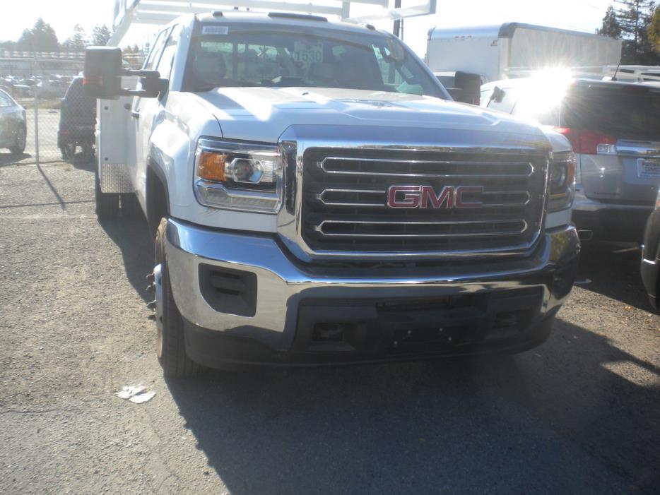 2016 Gmc 3500 Hd Contractor Truck