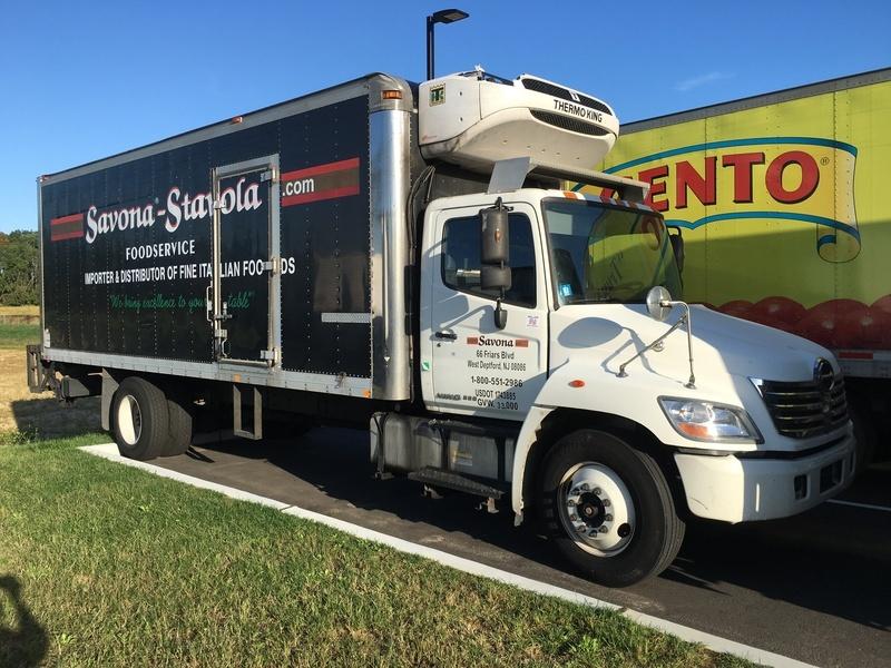 2010 Hino 338 Cargo Van