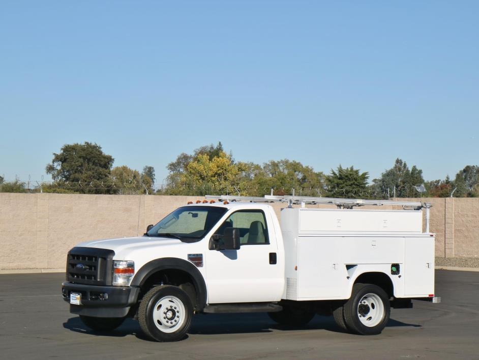 2008 Ford F450 Xl Sd  Utility Truck - Service Truck