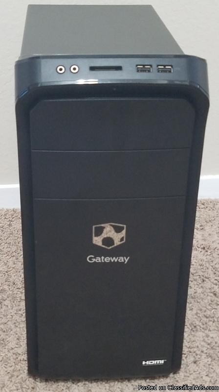 Gateway Computer Tower DX4870-UB20P with New USB Keyboard and Mouse