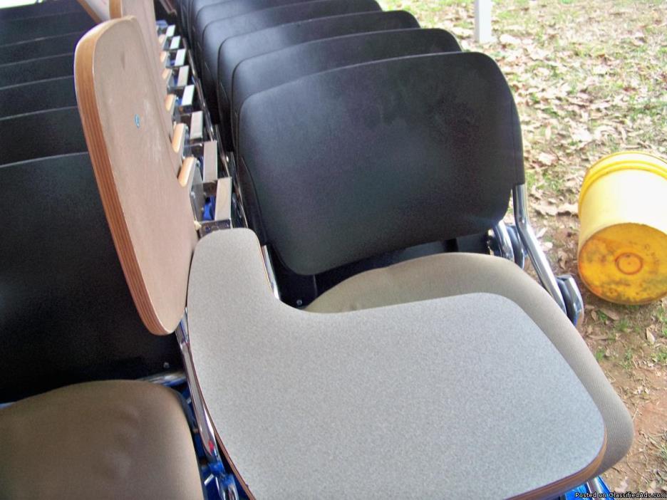 ki model m16 student rolling folding chairs
