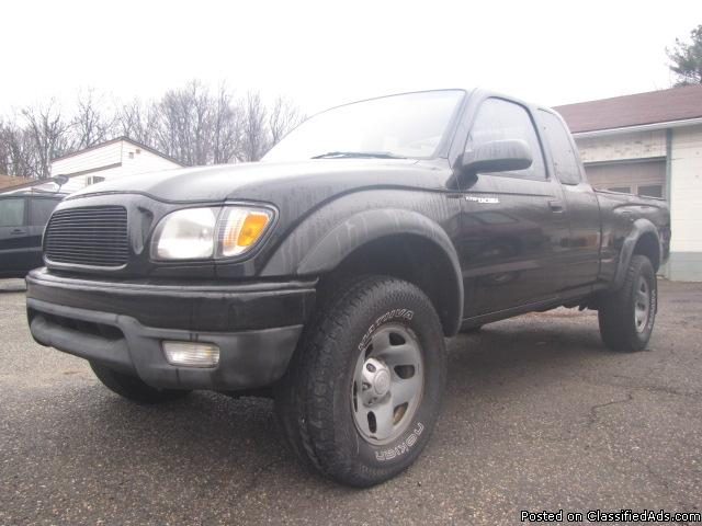 2002 Toyota Tacoma 188k/ml 4Cyl 5Speed Solid Truck all around 100%