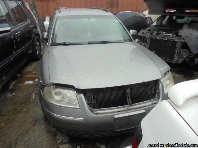 Parting out - 2003 VW Passat SW - Gray - Parts - 17022