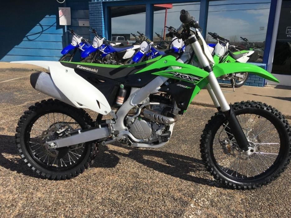 kawasaki kx 250f motorcycles for sale in texas. Black Bedroom Furniture Sets. Home Design Ideas