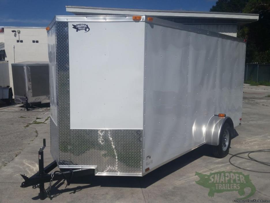 New Moving Trailer 6 foot by14 foot w/32in RV Style Side Door & Additional 3...