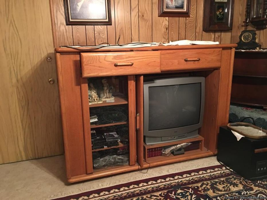 TVs and Cabinet for Free