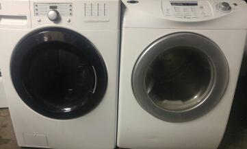 NICE HE FRONTLOAD WASHER & ELECTRIC DRYER
