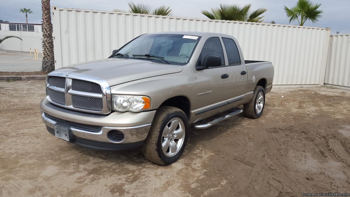 2002 Dodge Ram Pickup Truck