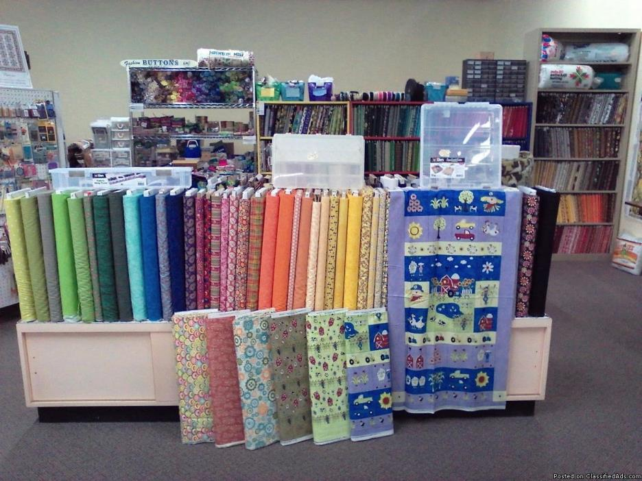 Quilting sewing and craft supplies