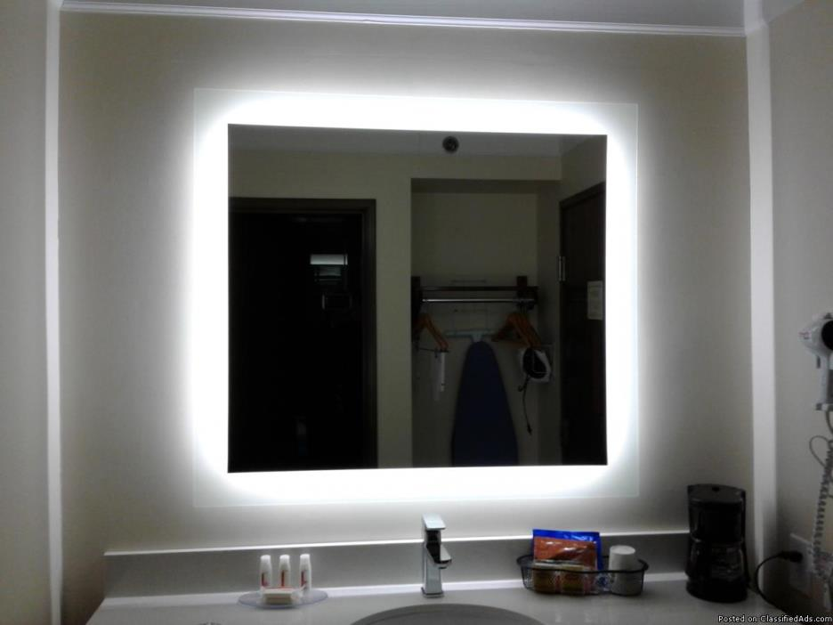 Vanity mirror LED lights 38x42