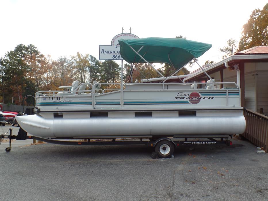 1995 Sun Tracker Fishing Barge