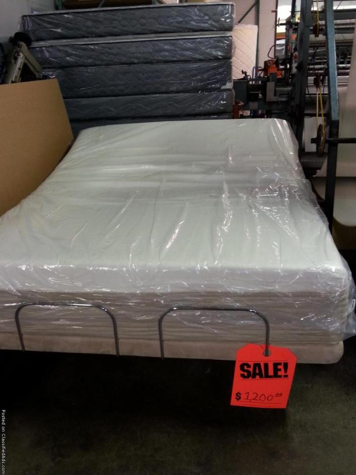 Adjustable Queen Memory Foam Mattress