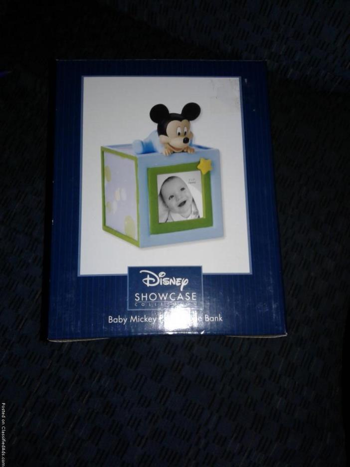 Mickey Baby Boy Bank New