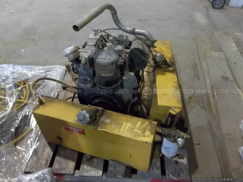 Diesel Engine-HATZ 2G40, 1