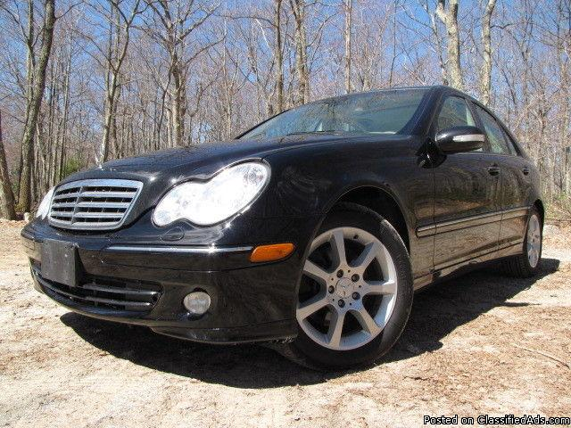2007 Mercedes-Benz C350 4-Matic 4WD AWD
