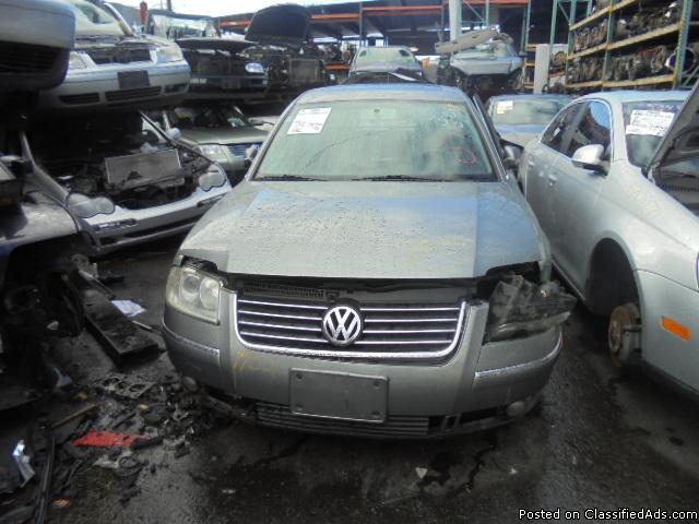 Parting out - 2001 VW Passat - Gray - Parts - 17021
