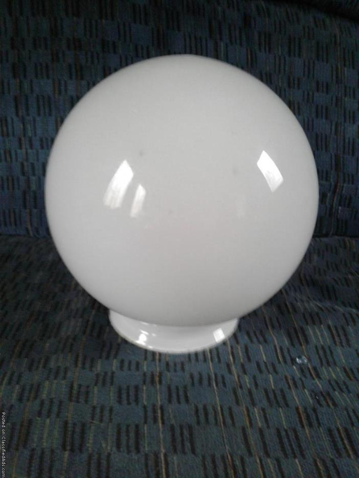 White Light Fixture Cover