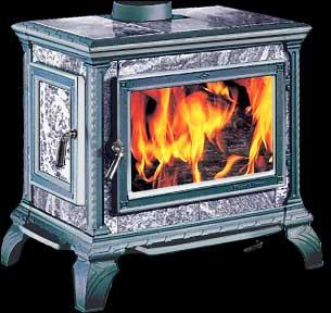 wood stove HEARTHSTONE HERITAGE, 1