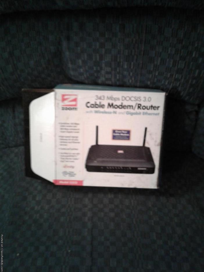 Zoom Cable Internet Modem