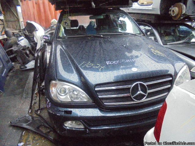 Parting out - 2002 Mercedes ML - Blue - Parts - 17024