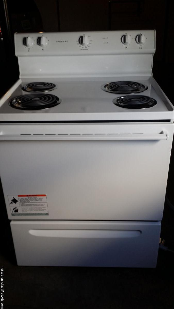 New Frigidaire electric range.  Never been used