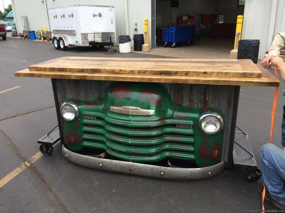 Rusty truck bar
