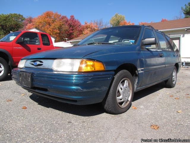 1993 Ford Escort Wagon Low original 91k/ml