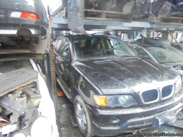 Parting out - 2001 BMW X5 - Black - Parts - 17034