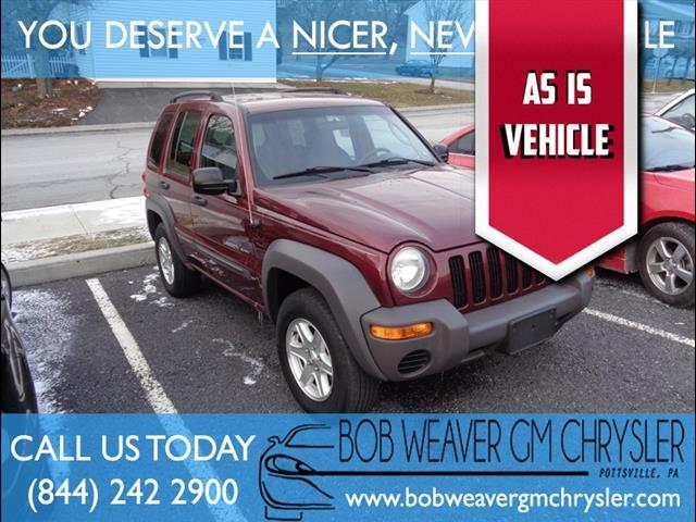 2003 Jeep Liberty Sport Vehicles For Sale
