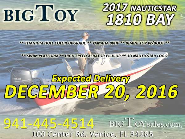 2017 NauticStar 1810 Nautic Bay
