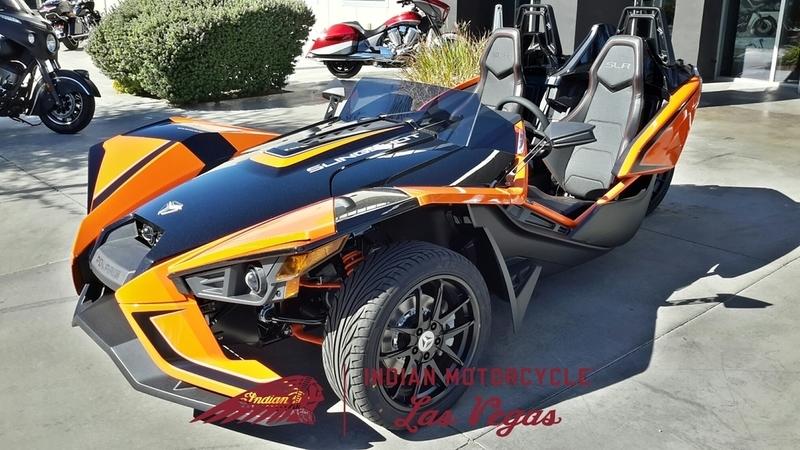 2017 Polaris Slingshot Reverse Trike SLR Orange Madness