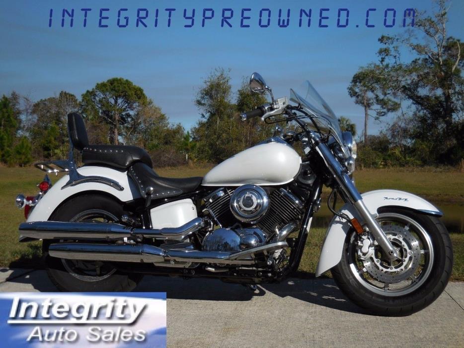 Yamaha V Star 1100 Custom White Motorcycles For Sale