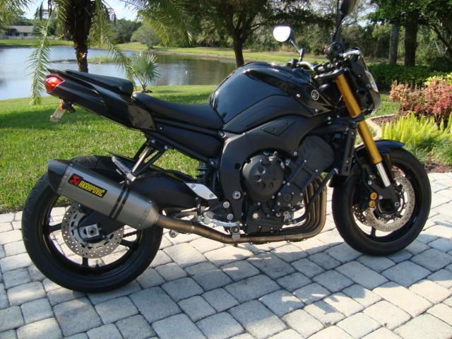 2011 Yamaha FZ8