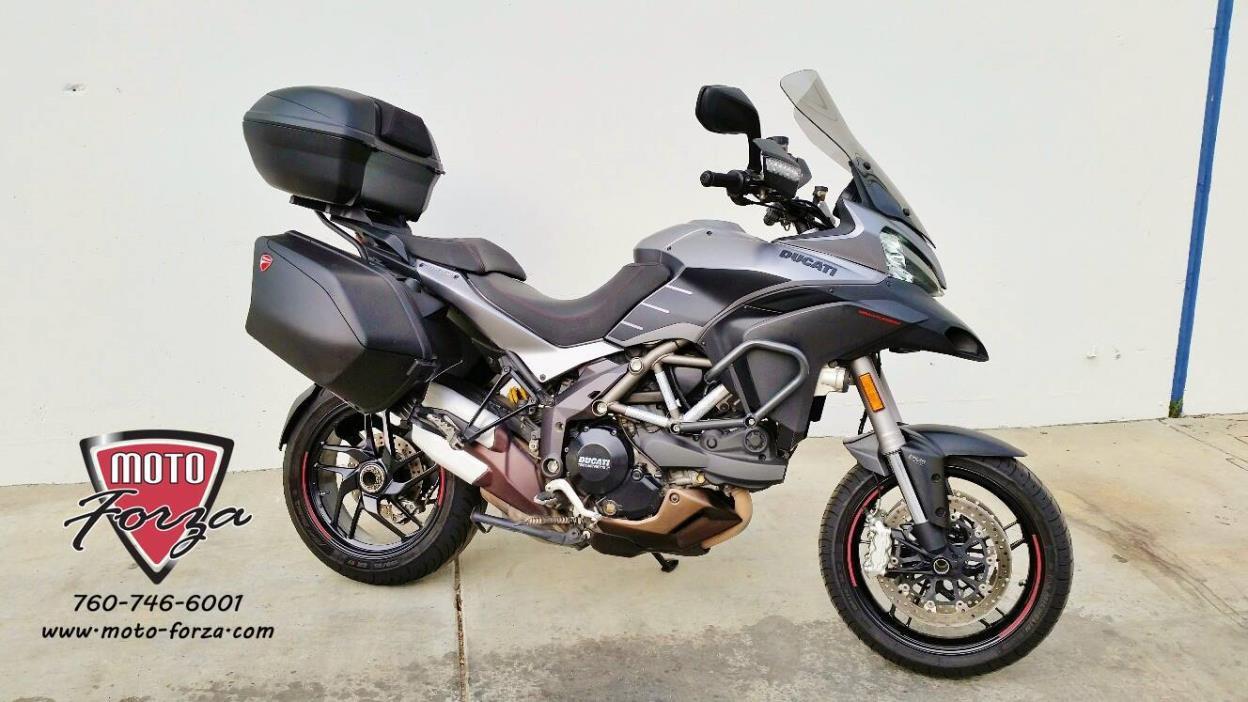 2014 Ducati Multistrada 1200 S Granturismo