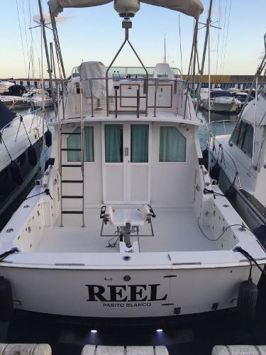 1990 Bertram 33 Flybridge Cruiser, 2