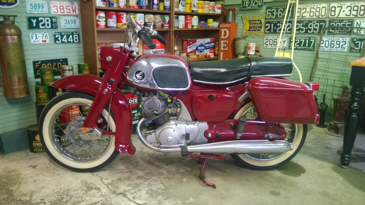 1963 Honda DREAM CA95