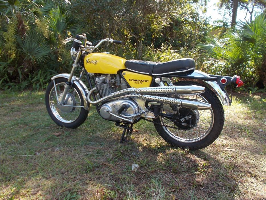 1969 Norton COMMANDO 750