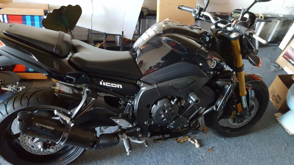 2011 yamaha fz8 motorcycles for sale. Black Bedroom Furniture Sets. Home Design Ideas