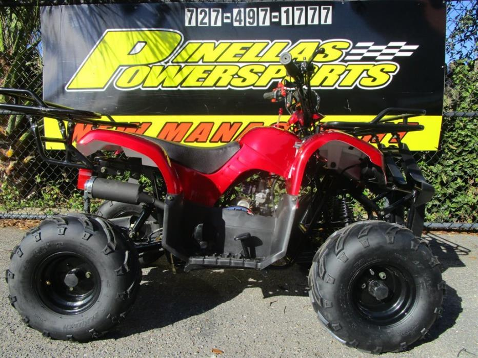 2016 Taotao ATA 125cc ATV
