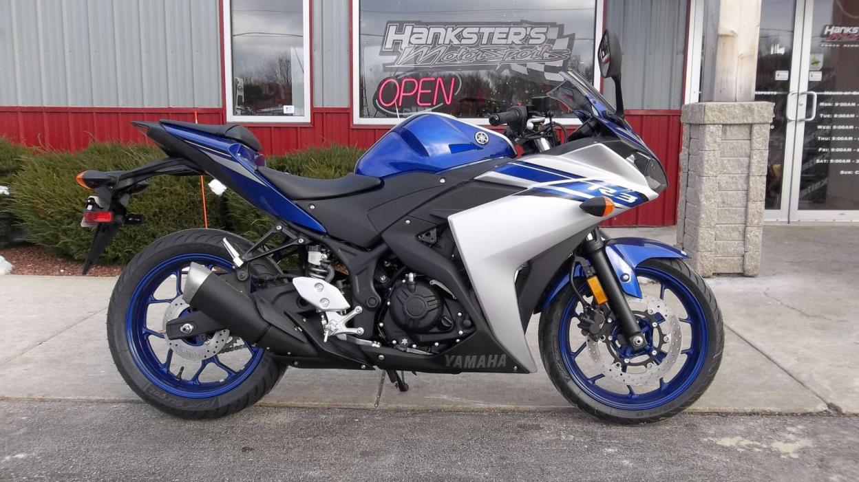 yamaha yzf r3 motorcycles for sale in wisconsin. Black Bedroom Furniture Sets. Home Design Ideas