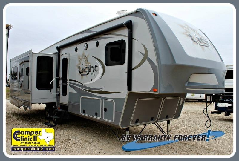2016 Open Range Rv Light The Fifth Wheel LF319RLS