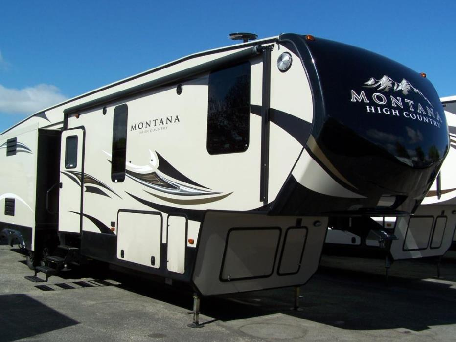 2017 Keystone Montana High Country 340BH