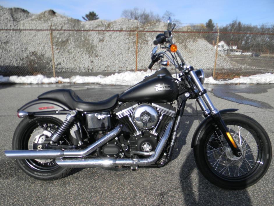 harley davidson dyna street bob motorcycles for sale in massachusetts. Black Bedroom Furniture Sets. Home Design Ideas