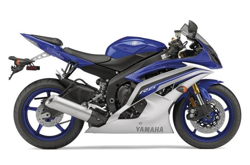 2016 Yamaha YZF-R6 Team Yamaha Blue/Matte Silver